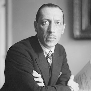 Igor Stravinsky: Composer Teachers and their Students