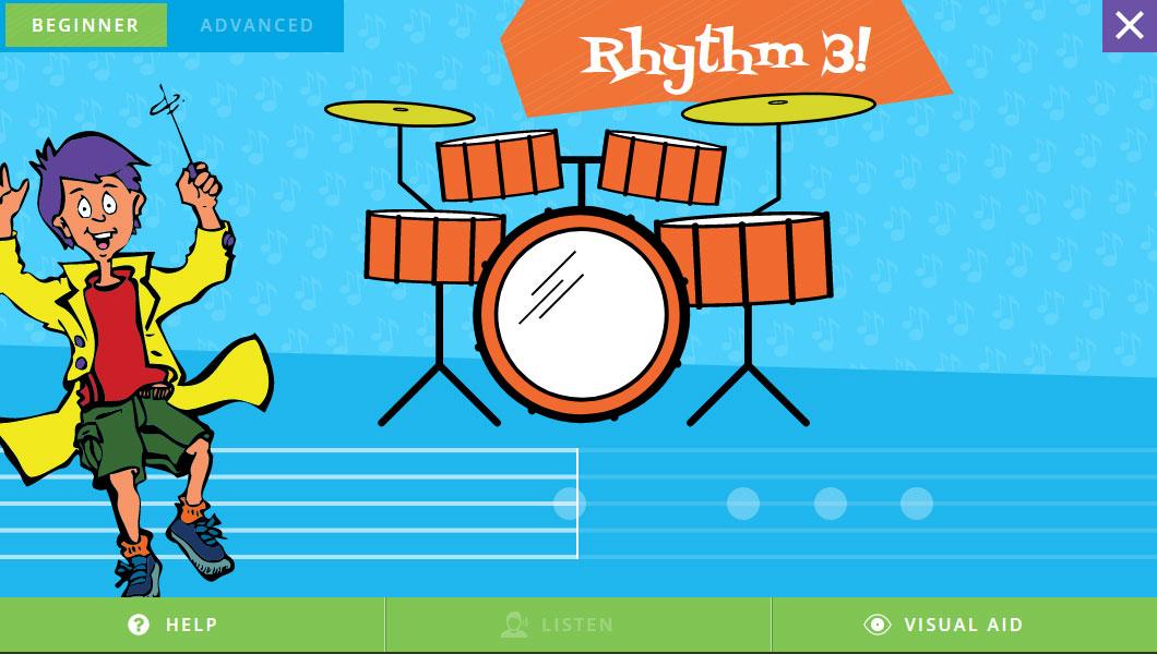 <b>Match</b> the Rhythm <b>Game</b>